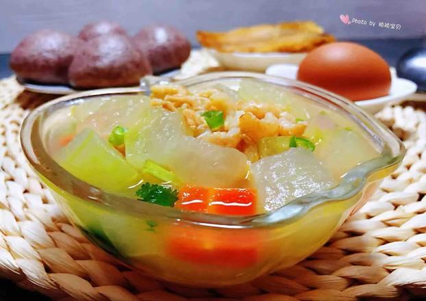 冬瓜虾米汤怎样煮