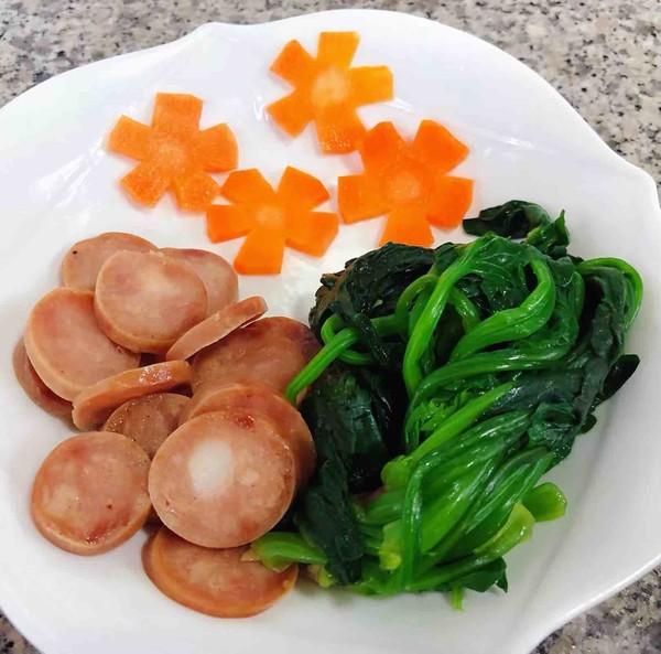 菠菜鸡蛋面怎么煮