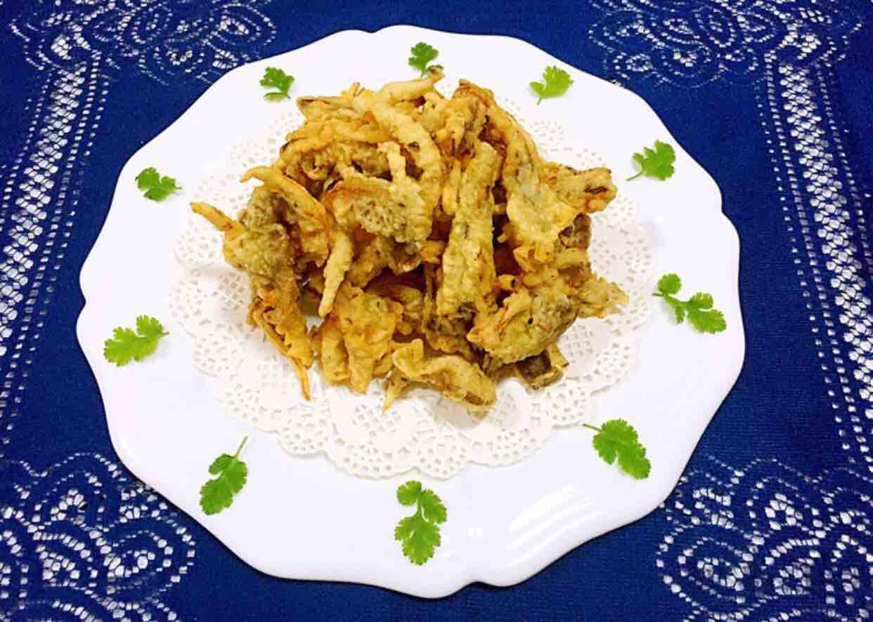 香酥孜然平菇怎样煮