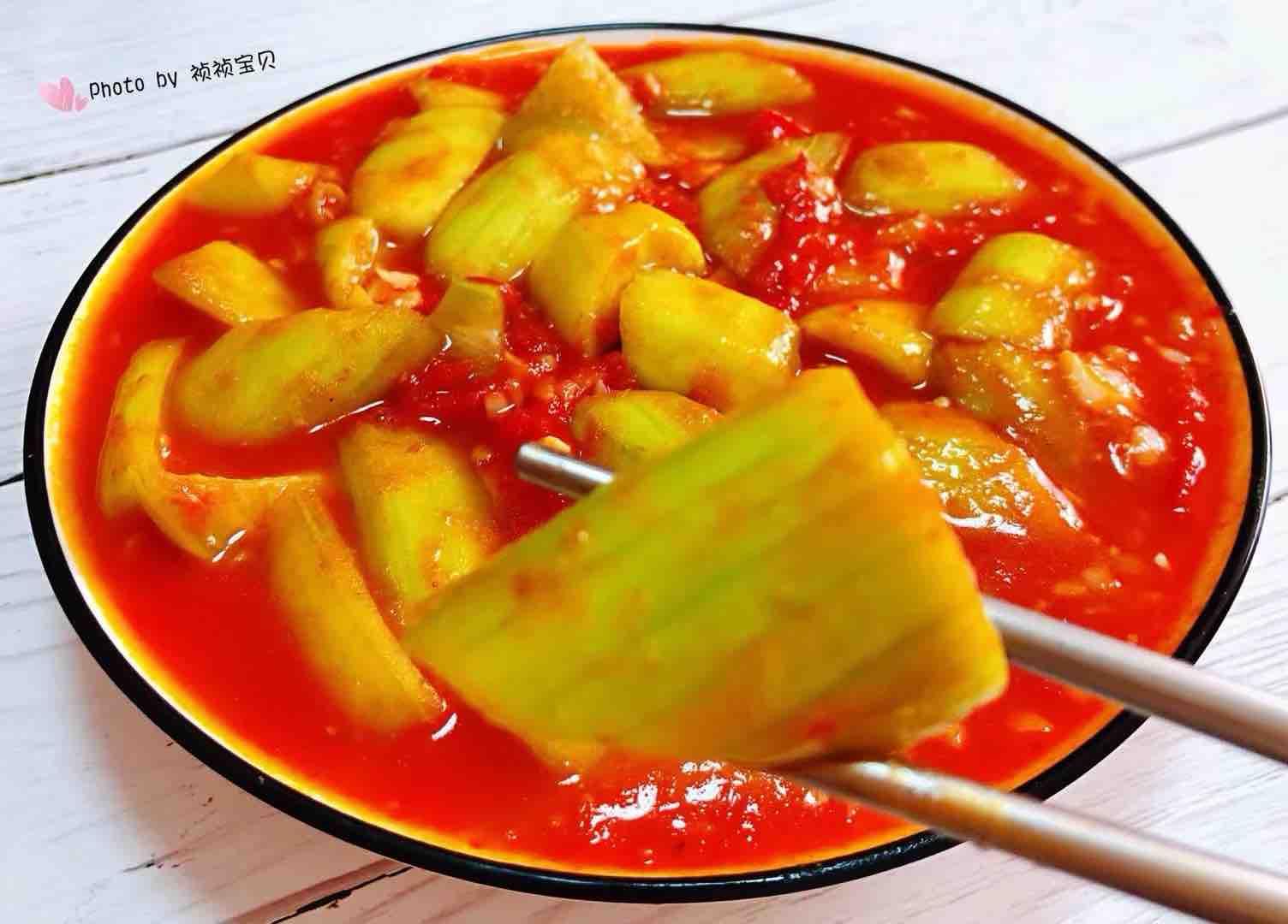 番茄炒丝瓜怎样炒