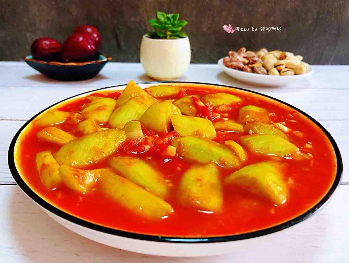 番茄炒丝瓜怎样煮