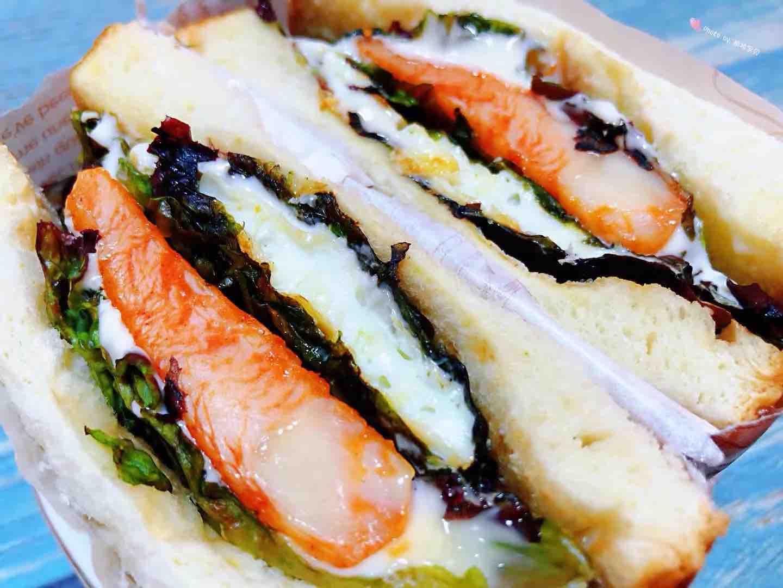 鸡排吐司三明治怎样炒