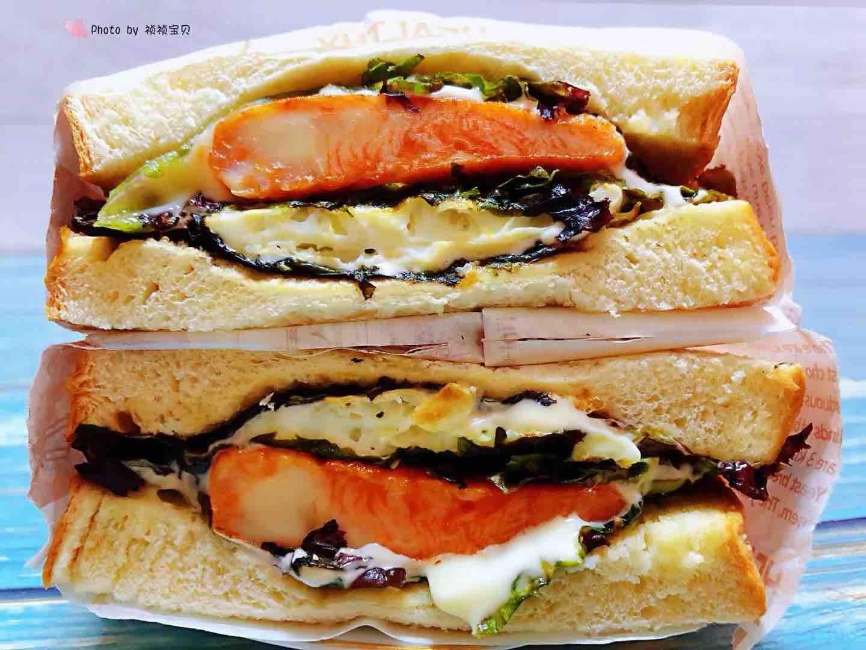 鸡排吐司三明治怎样煮