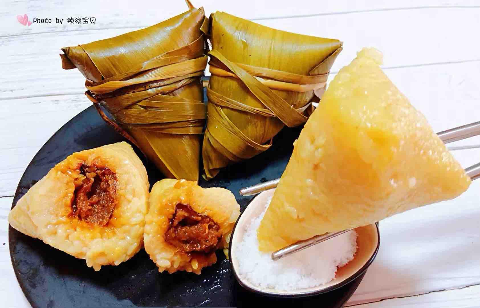 大枣糯米粽的制作方法