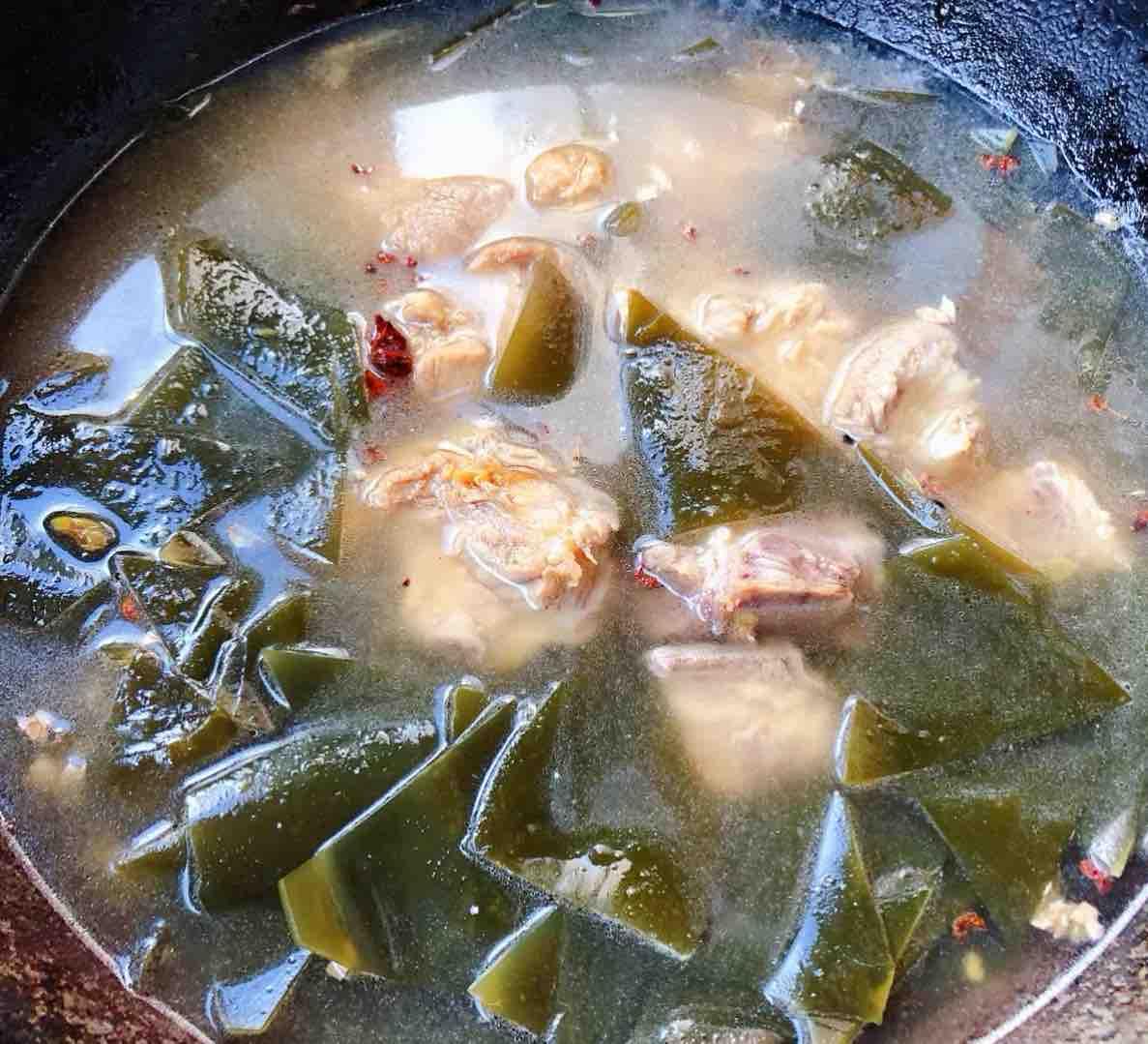 海带炖排骨怎么煮