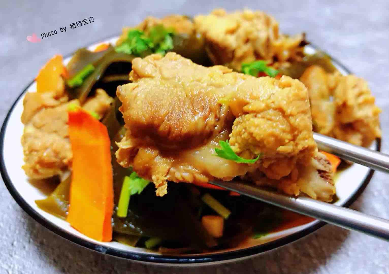 海带炖排骨怎样煮