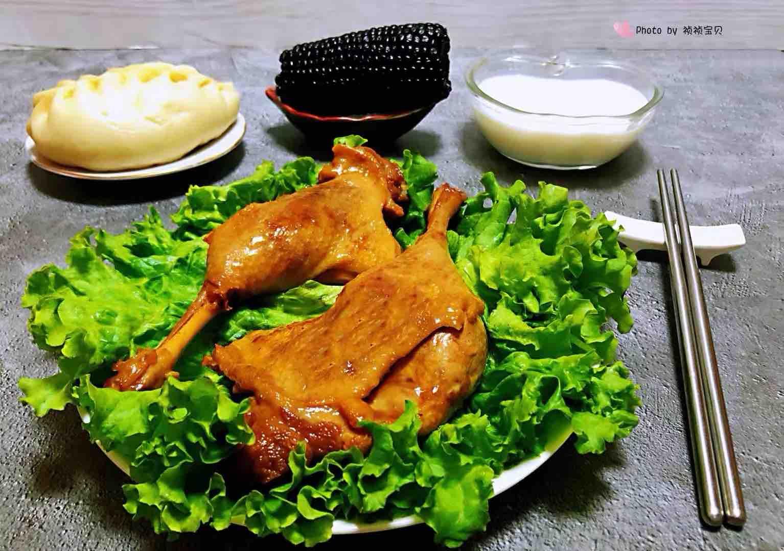 红烧鸭腿怎样煮