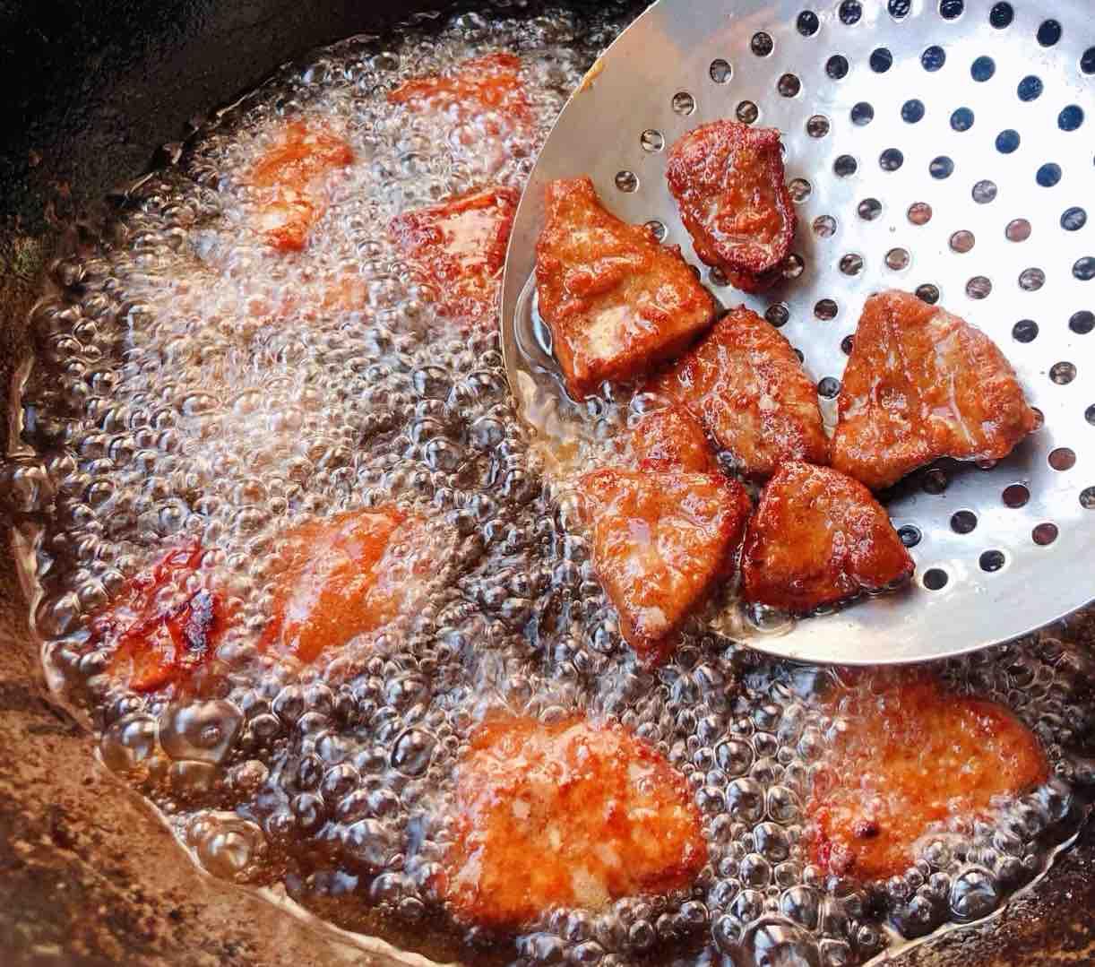 青椒洋葱炒猪肝怎么吃