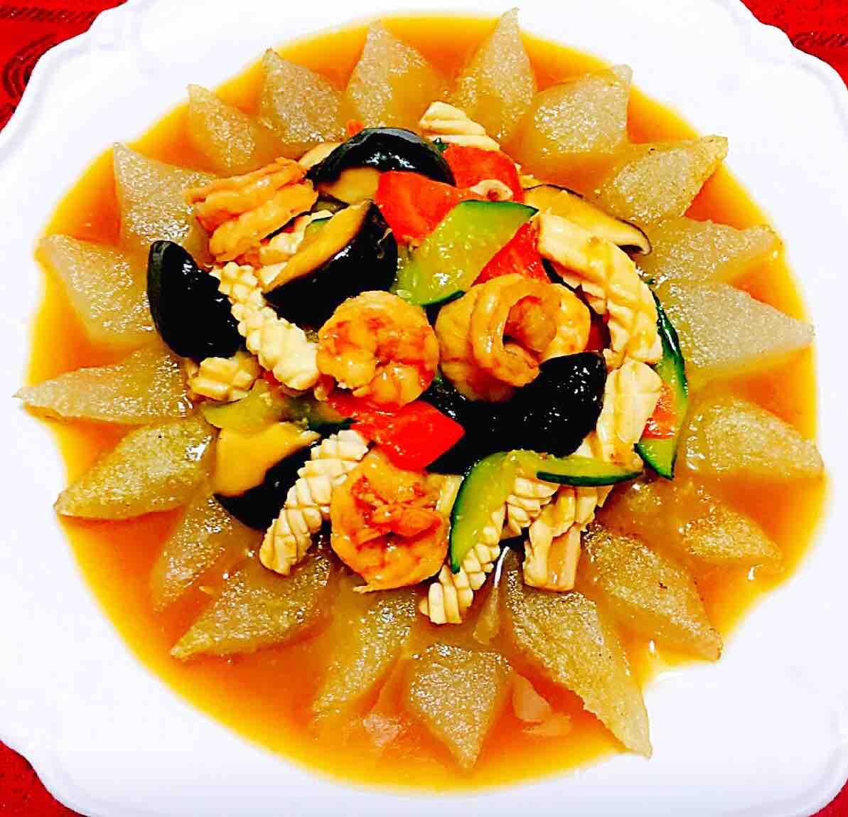 三鲜焖子怎样煮