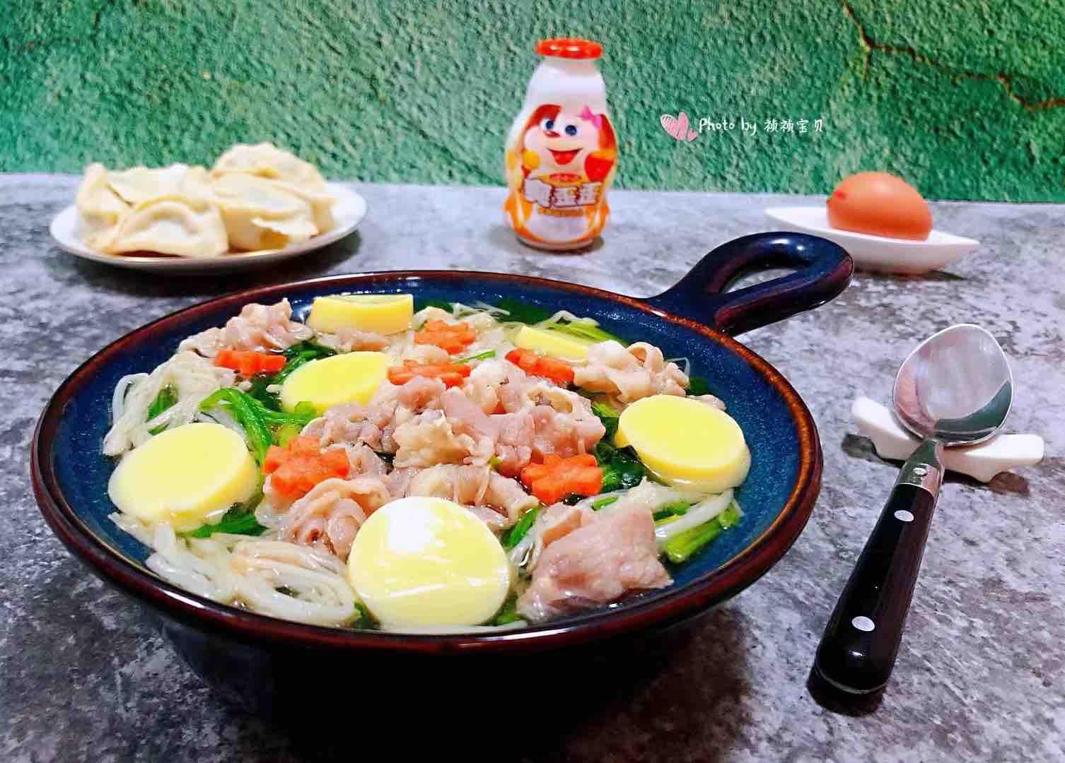 肥羊菠菜金针菇豆腐汤怎样炒