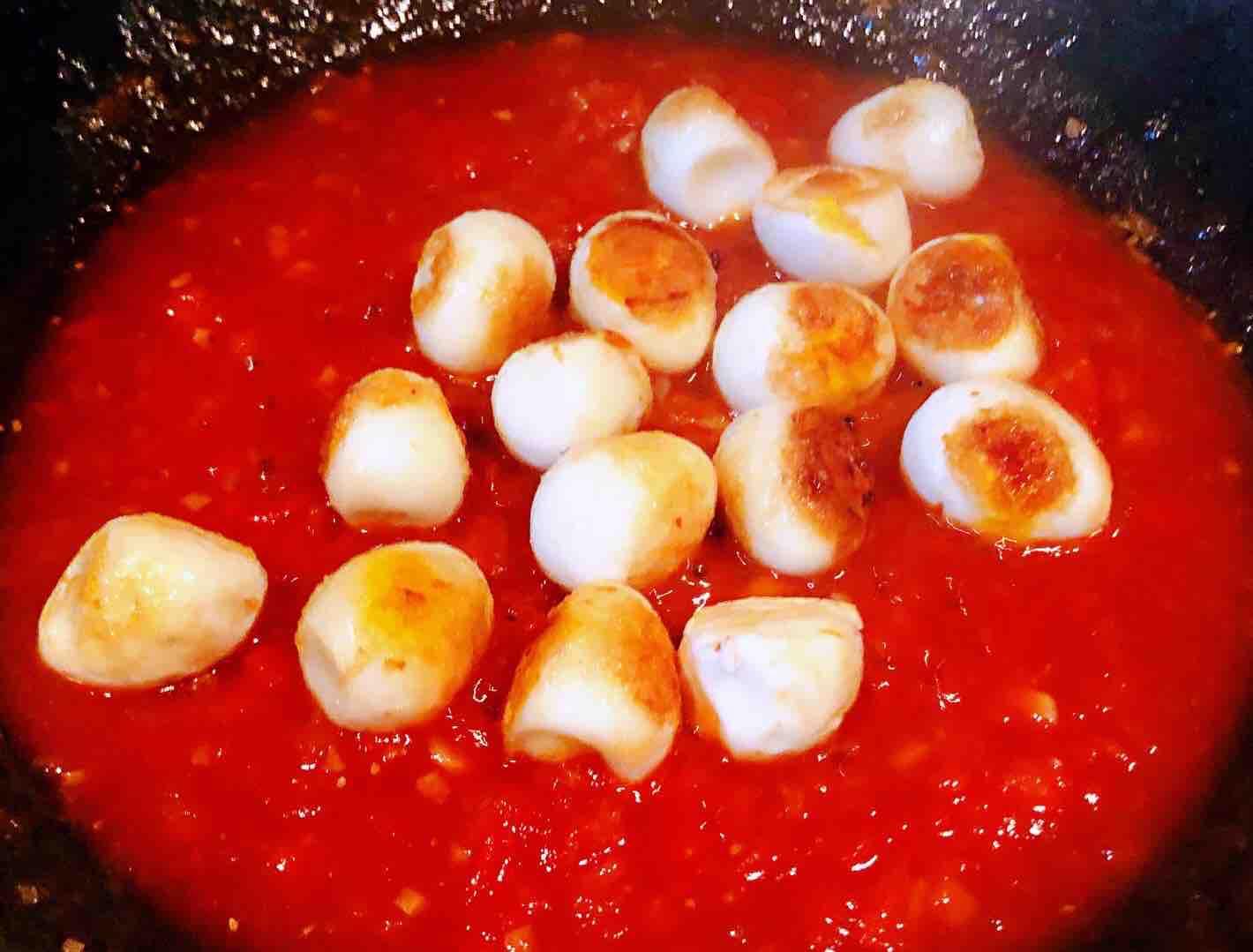 茄汁鹌鹑蛋怎么煮