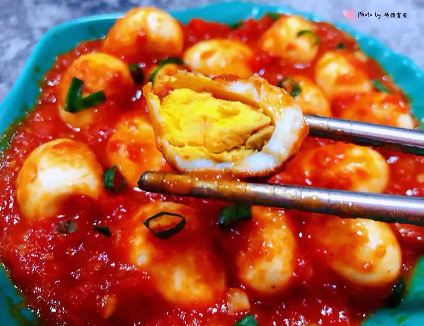茄汁鹌鹑蛋怎样煮