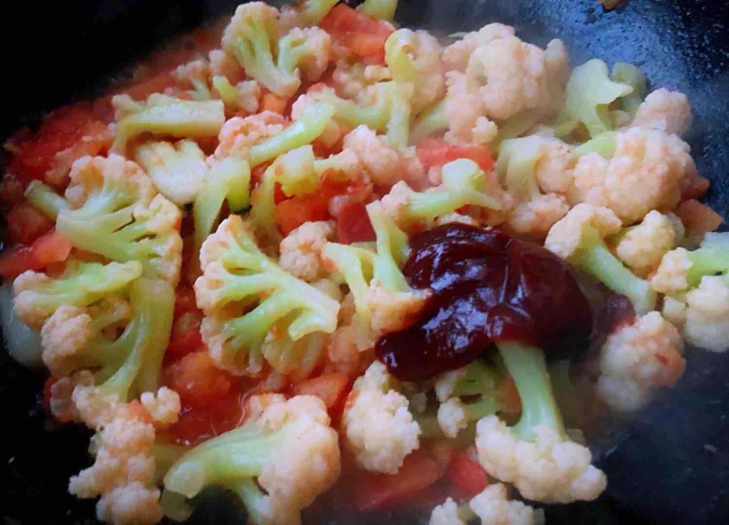 茄汁花菜怎么煮