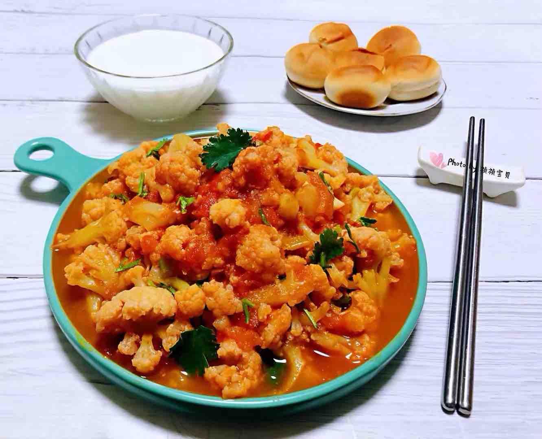 茄汁花菜怎样做