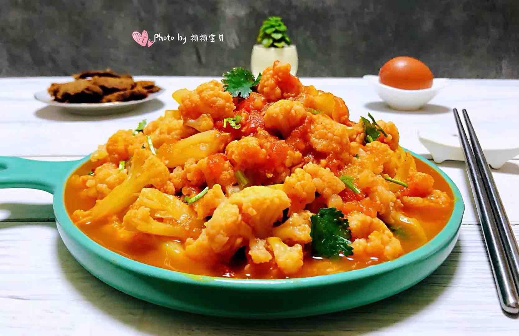 茄汁花菜怎样煮