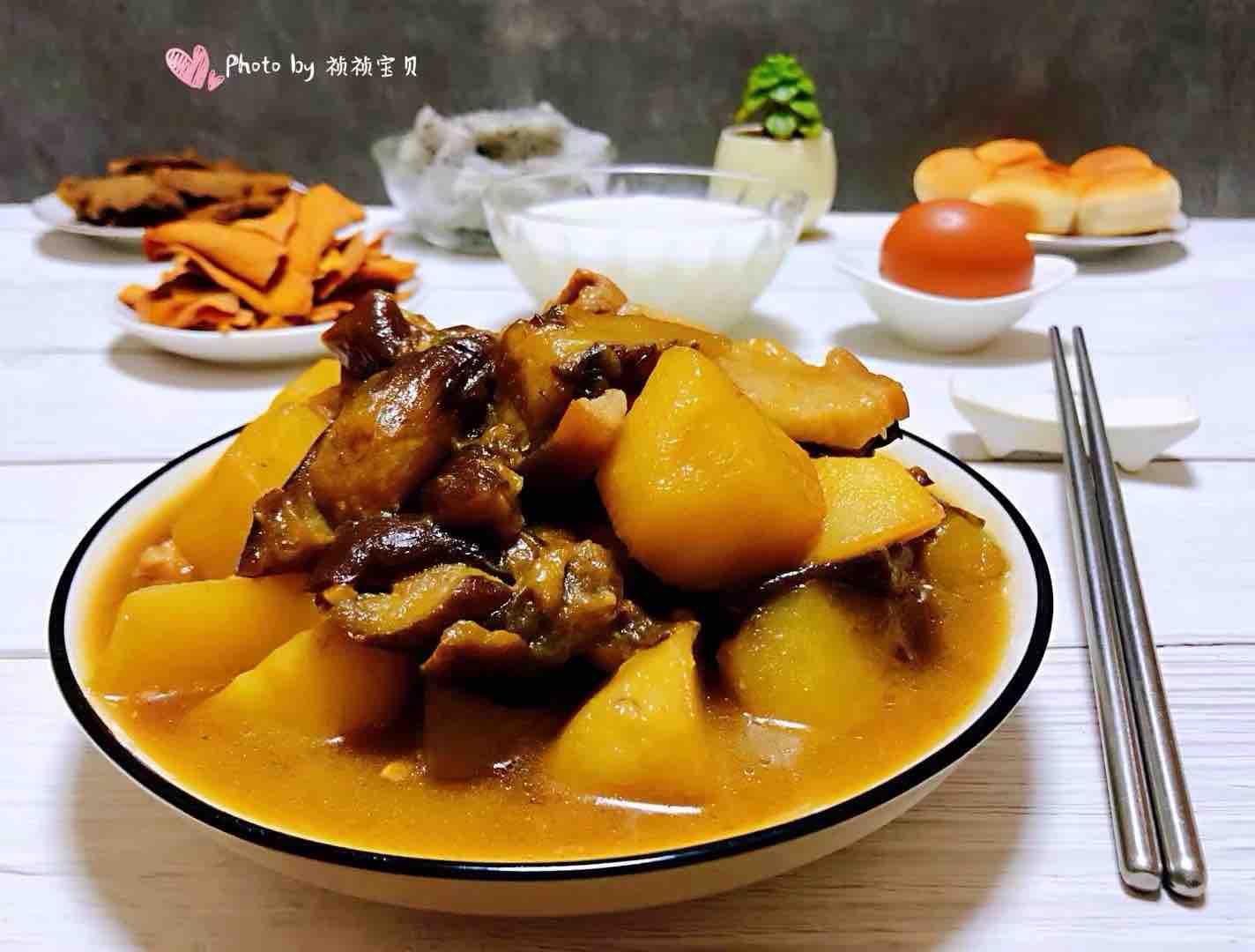 土豆茄子炖五花肉怎样煮