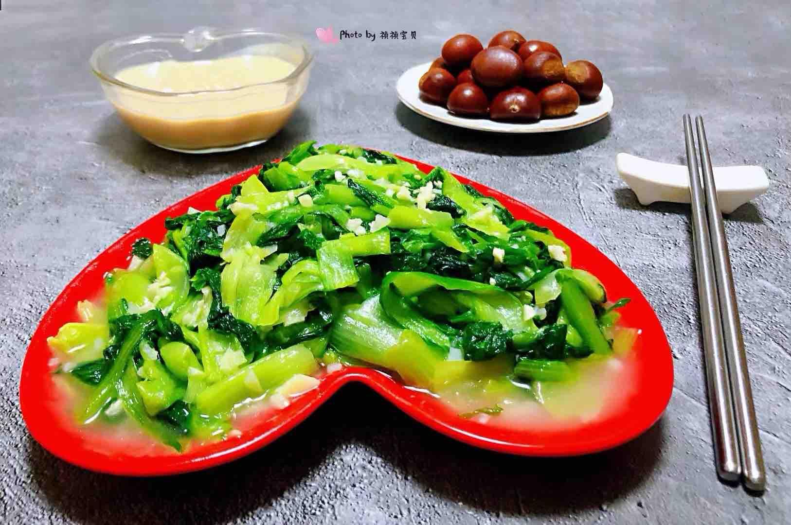 蒜蓉小白菜怎样炒