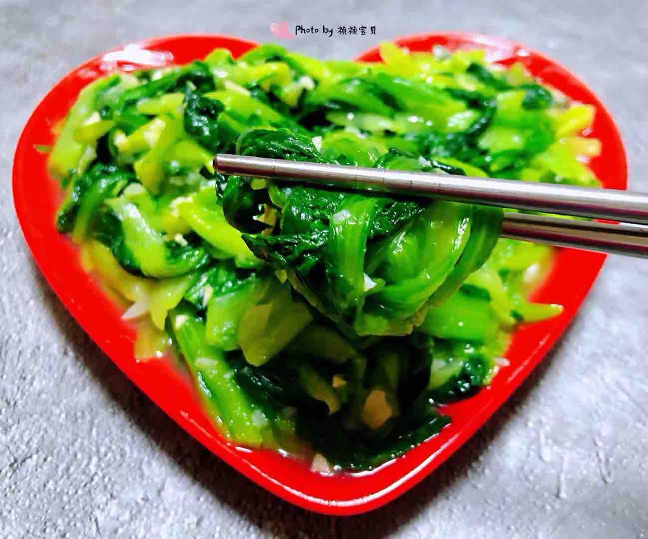 蒜蓉小白菜怎样煮