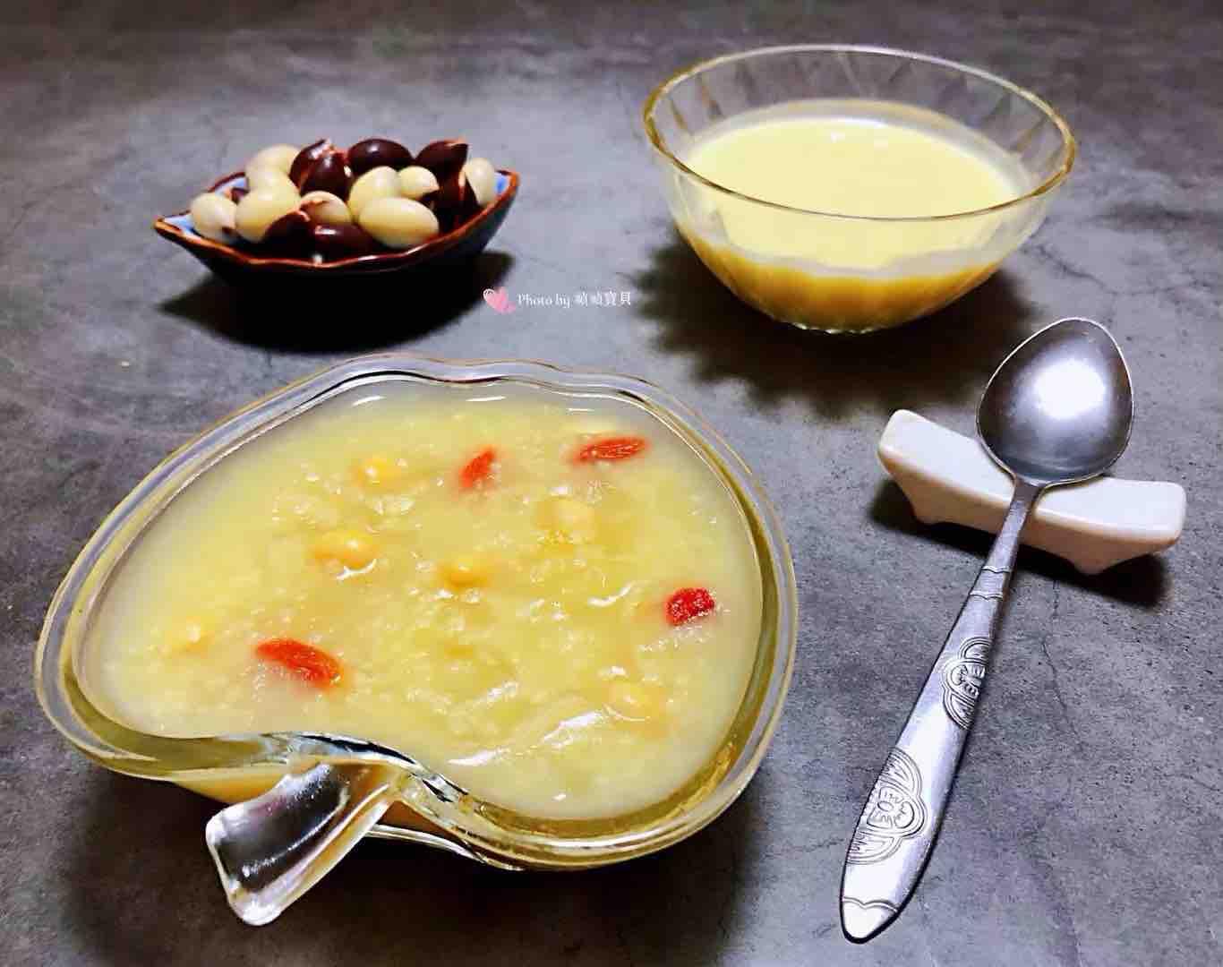 银耳黄豆枸杞小米粥怎样炒
