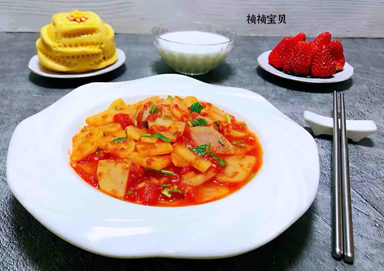 西红柿炒土豆片怎样做