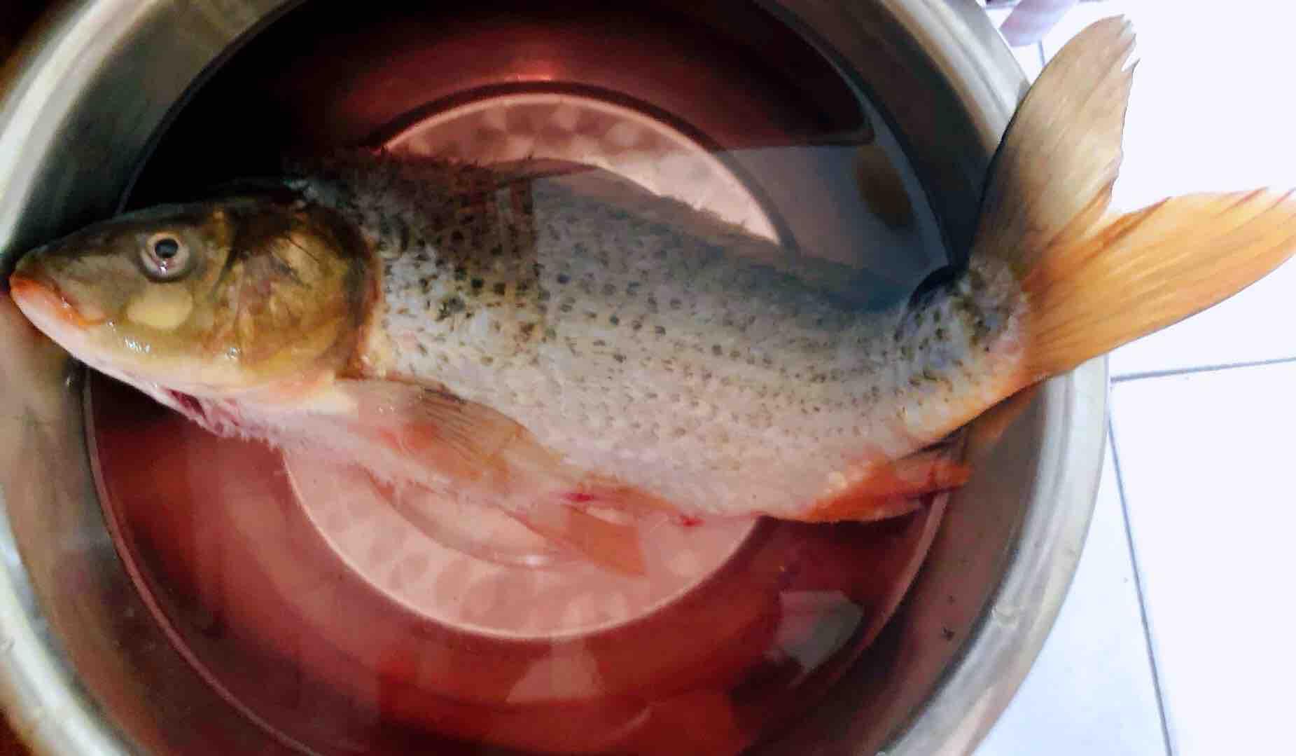 酱焖鲤鱼的步骤