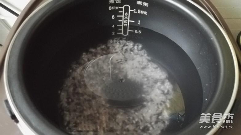 花生核桃粥的做法图解