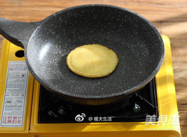 奶香玉米饼怎么炒