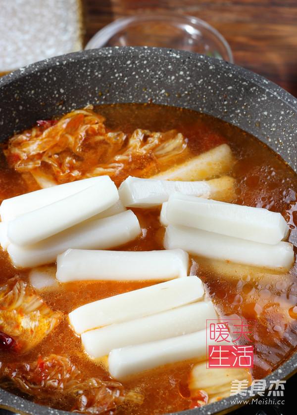 韩式 炒年糕怎么吃