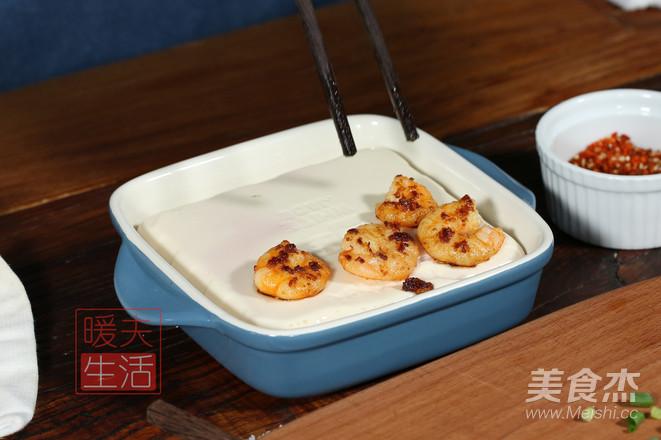 虾仁豆腐托怎么做
