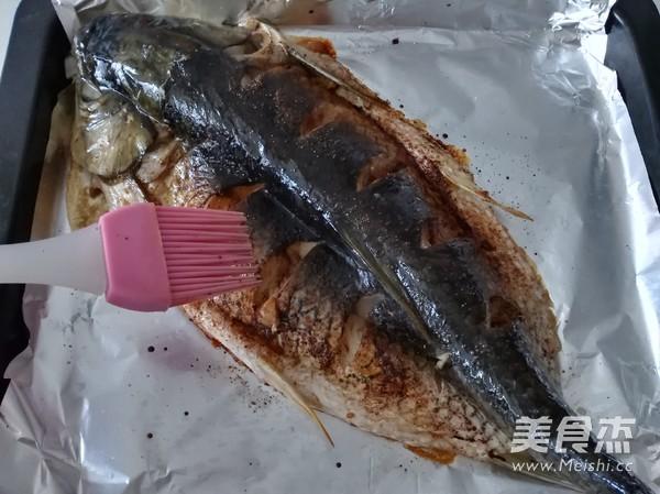 酱香味烤鱼的简单做法