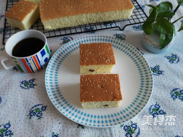 葡萄干切块蛋糕怎样做
