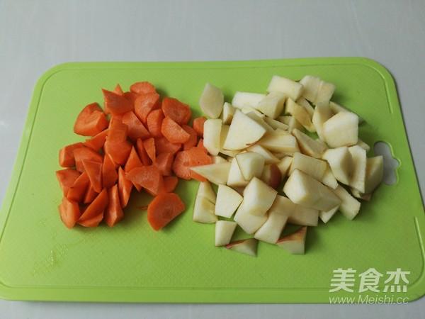 鲜榨果汁胡萝卜苹果汁的做法图解