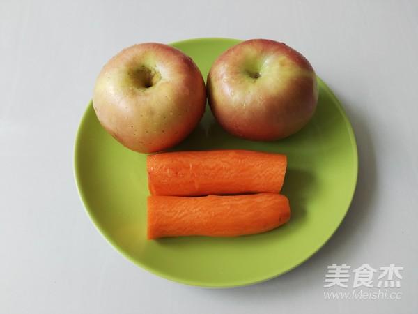鲜榨果汁胡萝卜苹果汁的做法大全