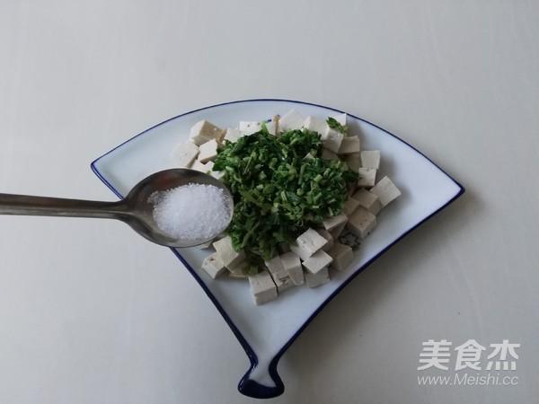 香椿拌豆腐怎么做