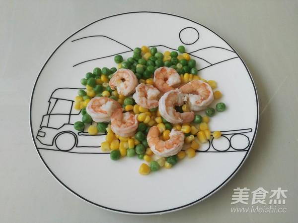 虾仁五彩炒饭的简单做法