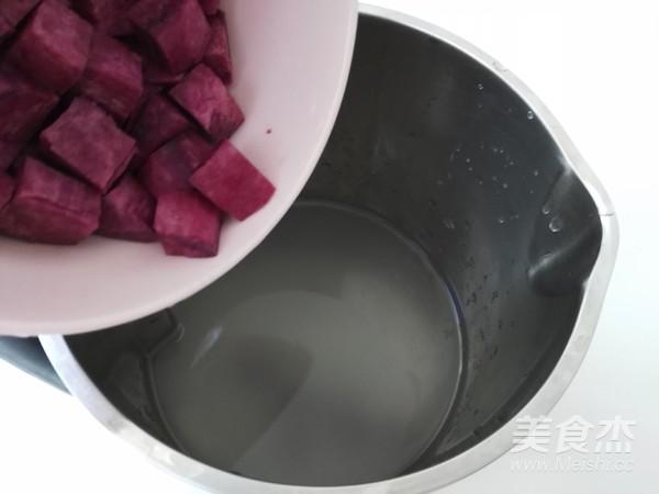 紫薯米糊怎么吃