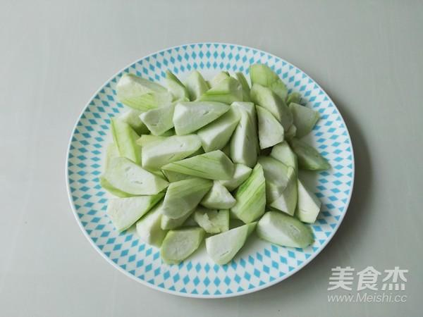 蒜蓉丝瓜的做法图解