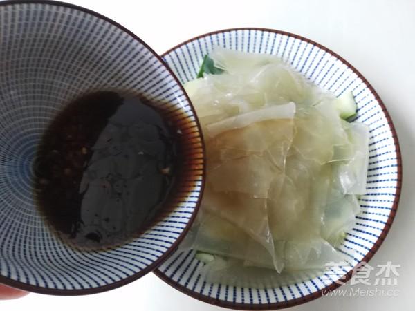 黄瓜拌粉皮怎么煮