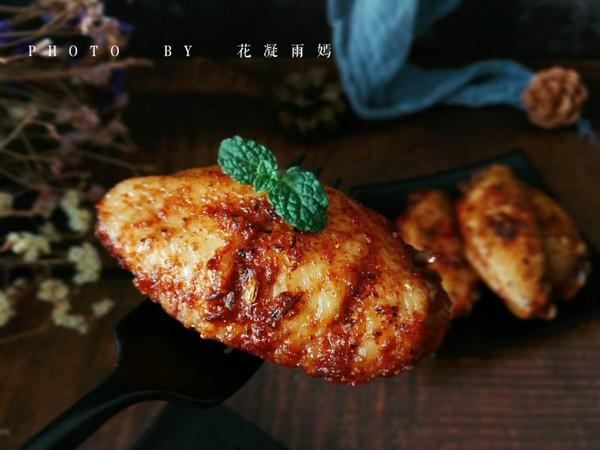 烤鸡翅成品图