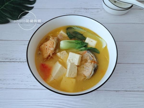 三文鱼头豆腐汤怎么炒