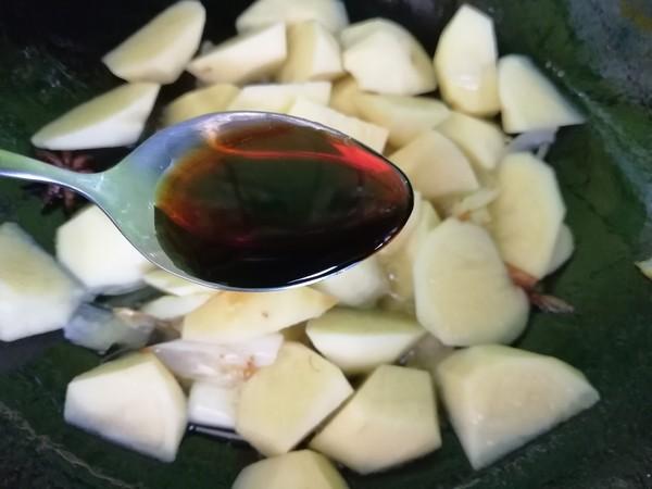 烧土豆块的简单做法