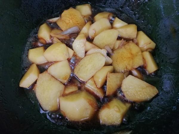 烧土豆块怎么做