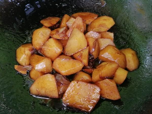烧土豆块怎么炒