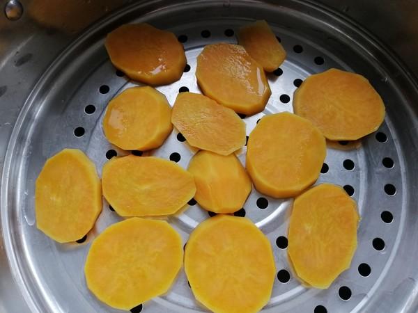 椰蓉红薯球的做法图解