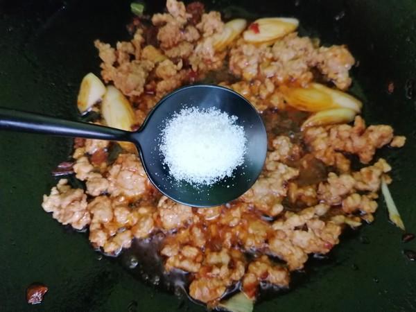 空心菜炒肉末的简单做法