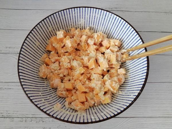 红薯饼的简单做法
