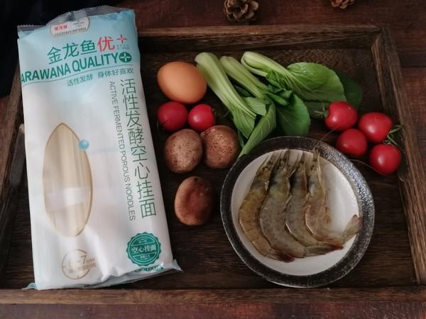 鲜虾清汤面的做法大全