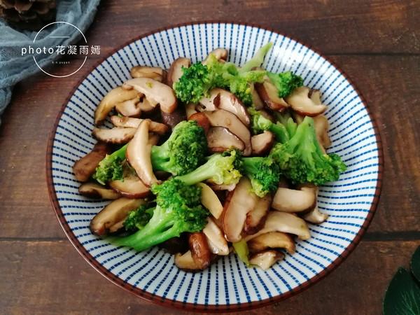 西兰花炒香菇怎么煮