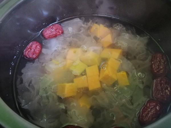 南瓜芡实甜汤怎么炒