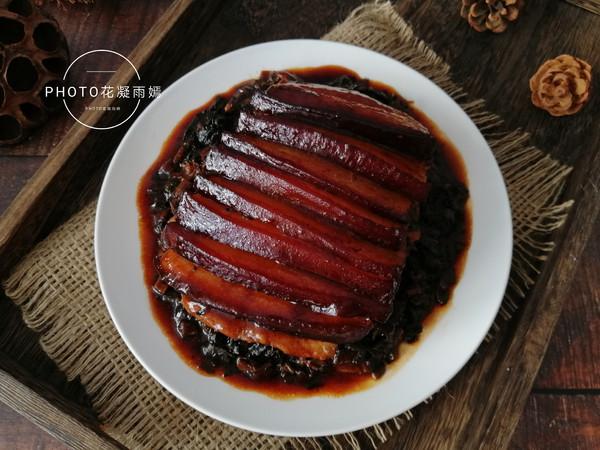梅菜扣肉的制作